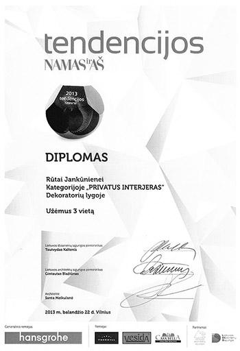 Tendencijos Diplomas